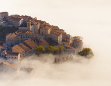 Castelluccio In The Mist